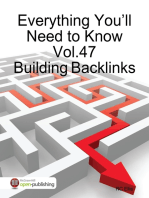 Everything You'll Need to Know Vol.47 Building Backlinks