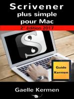 Scrivener plus simple pour Mac