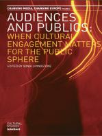 Audiences and Publics
