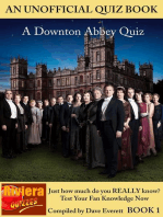 Downton Abbey Quiz Book 1 (Downton Abbey Quizzes, #1)