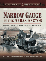 Narrow Gauge in the Arras Sector: Before, During & After the First World War