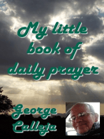 My Little Book Of Daily Prayer