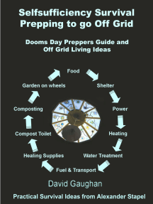 Self Sufficiency Survival Living Off The Grid: Wise Emergency Food Storage and Survival Foods for Off Grid Living and to Help Survival Preppers Live off Grid