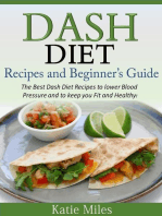 Dash Diet Recipes and Beginner's Guide