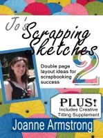Jo's Scrapping Sketches Vol. 2