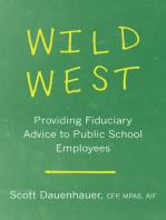 Wild West: Providing Fiduciary Advice to Public School Employees