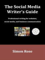 The Social Media Writer's Guide