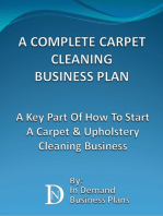 A Complete Carpet Cleaning Business Plan