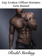 Gay Erotica: Officer Romano Gets Busted