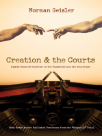 """Creation and the Courts (With Never Before Published Testimony from the """"Scopes II"""" Trial)"""