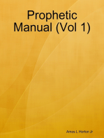 Prophetic Manual (Vol 1)