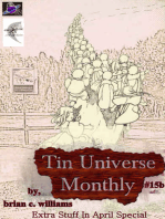 Tin Universe Monthly #15b 2014 Extra Stuff In April Special