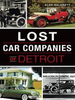 Lost Car Companies of Detroit