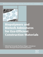 Biopolymers and Biotech Admixtures for Eco-Efficient Construction Materials
