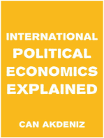 International Political Economics Explained (Simple Textbooks Book 1)