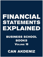 Financial Statements Explained: Business School Books Volume 10