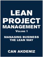 Lean Project Management Volume 1