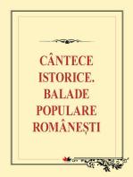Cântece istorice. Balade populare românești