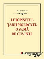 Letopisețul Țării Moldovei. O samă de cuvinte