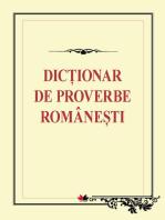 Dicţionar de proverbe româneşti