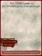 Tin Universe Monthly #22, A First Shot Fired