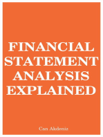 Financial Statement Analysis Explained (MBA Fundamentals) (Volume 7)