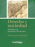 Derecho y sociedad. Elementos de sociología del derecho, 2.ª ed.