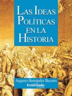Las ideas políticas en la historia