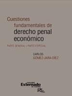 Cuestiones fundamentales de derecho penal económico. Parte general y parte especial