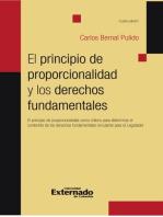 El principio de proporcionalidad y los derechos fundamentales