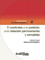 El contrato y la justicia: una relación permanente y compleja