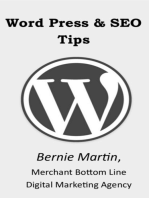 Word Press and SEO Tips