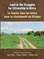Land in the Struggles for Citizenship in Africa