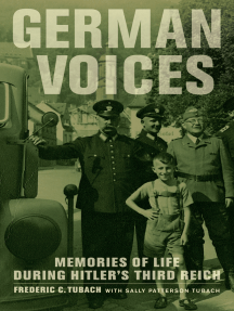 German Voices: Memories of Life during Hitler's Third Reich
