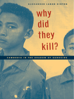 Why Did They Kill?
