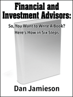 Financial and Investment Advisors