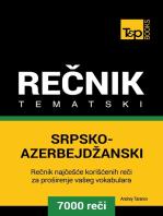 Srpsko-Azerbejdžanski tematski rečnik