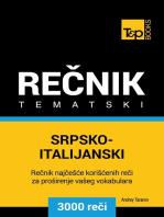 Srpsko-Italijanski tematski rečnik