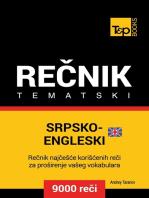 Srpsko-Engleski (britanski) tematski rečnik - 9000 korisnih reči