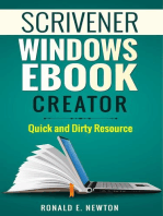Scrivener Windows EBook Creator Quick and Dirty Resource