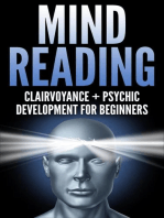 MIND READING: Clairvoyance and Psychic Development