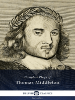 Complete Plays and Poetry of Thomas Middleton (Delphi Classics)