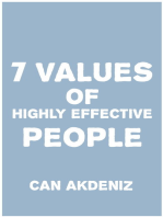 7 Values of Highly Effective People