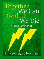 Together We Can Divided We Die