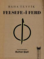 Felsefe-i Ferd