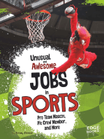 Unusual and Awesome Jobs in Sports
