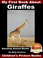 My First Book about Giraffes