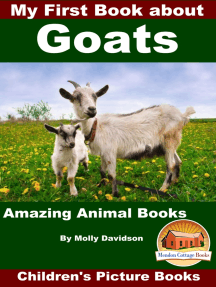 My First Book about Goats: Amazing Animal Books - Children's Picture Books