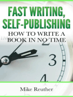 Fast Writing, Self-Publishing