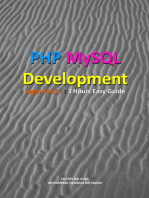 PHP MySQL Development of Login Modul